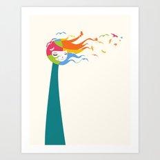 Birds Color Art Print