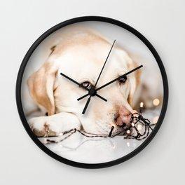 light up my day Wall Clock