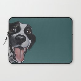 Maeby the border collie mix Laptop Sleeve