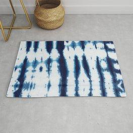 Linen Shibori Shirting Rug
