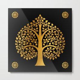 Bodhi Tree0110 Metal Print