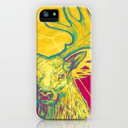 Stag Dimension of Yellow iPhone Case