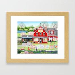 Springtime Wishes Framed Art Print
