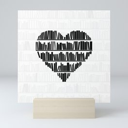 Book Lover II Mini Art Print
