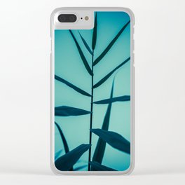 Reach to the Sky at Sunset 1 Clear iPhone Case