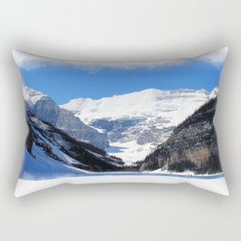 Lake Louise in Banff National Park Rectangular Pillow