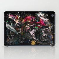 motorcycle iPad Cases featuring Motorcycle by ron ashkenazi