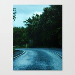 Dangerous Roads Canvas Print