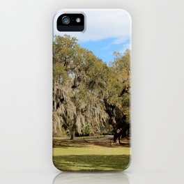 Southern Live Oaks iPhone Case