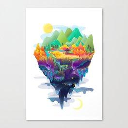 Worlds Canvas Print