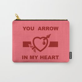 You arrow in my heart Carry-All Pouch