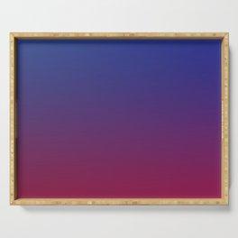 LULLABY - Minimal Plain Soft Mood Color Blend Prints Serving Tray