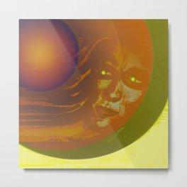 Cosmic Boy - Meteor II / 05-02-17 Metal Print