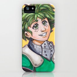 Izuku Midoriya iPhone Case