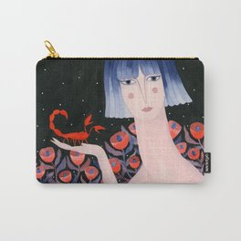 Zodiac - Scorpio Carry-All Pouch