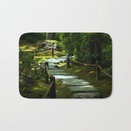 Moss gardern path Bath Mat