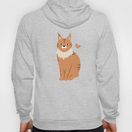 Cute Maine Coon Hoody