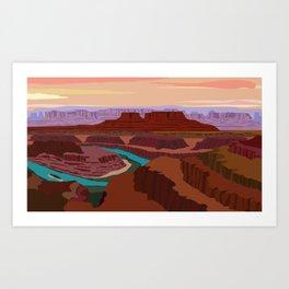 Magnificent Canyonlands National Park, Utah Art Print