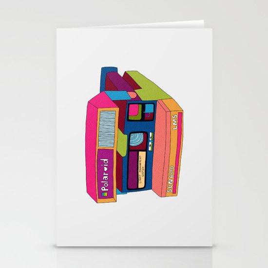 Captures Great Moments (color fun) Stationery Cards