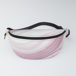 Modern Pink Marble Fanny Pack