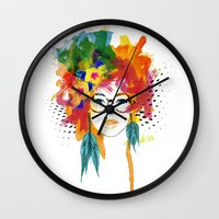 dreamer Wall Clocks featuring Dreamer by PositIva