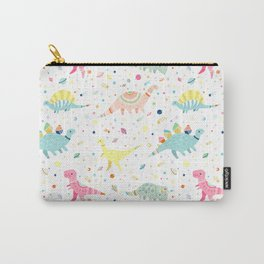 Dinosaur Pattern Carry-All Pouch