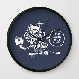 1337 H4xor Wall Clock