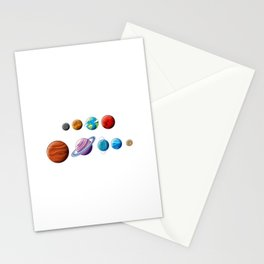 Back In My Day We Had Nine Planets Design for a Spaceman Stationery Cards