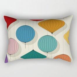 Chinese paper lamp pattern Rectangular Pillow