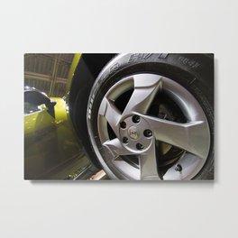 Renault Duster Dynamique 4x4 Wheel Metal Print