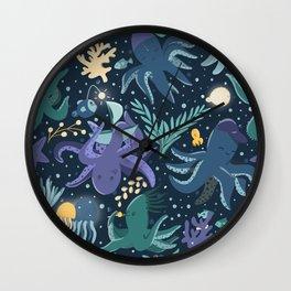 Kraken childhood Wall Clock