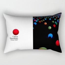 lights - Circo Massimo - Notte Bianca Rectangular Pillow