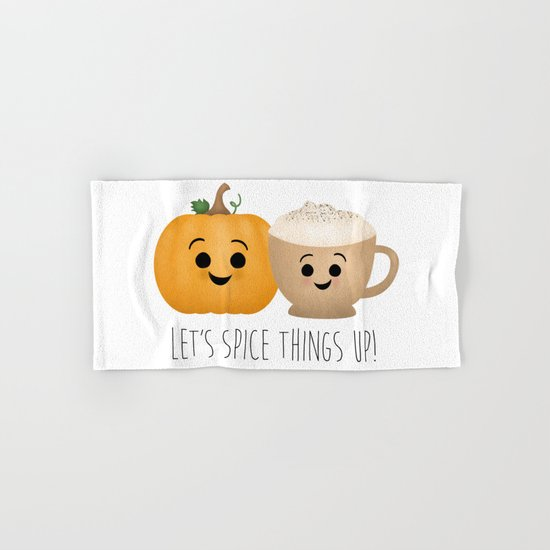 Let's Spice Things Up! Hand & Bath Towel