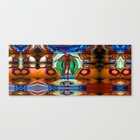 pain Canvas Prints featuring Pain by Robin Curtiss