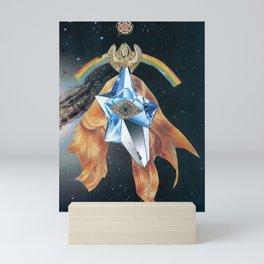 Lucifer as Angel Mini Art Print
