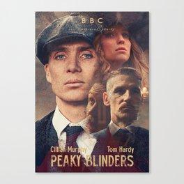 Peaky Blinders, Cillian Murphy, Thomas Shelby, BBC Tv series, Tom Hardy, Annabelle Wallis Canvas Print
