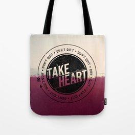 Take Heart Tote Bag
