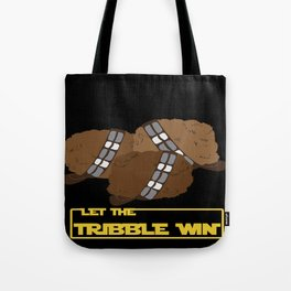 Let the tribble win Tote Bag