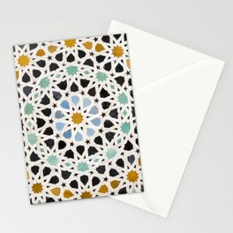Mosaic Detail, Fes, Morocco Stationery Cards