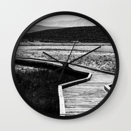 Path to Peace 2 Wall Clock