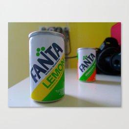 Fanta Soda  Canvas Print