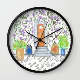 fairy door Wall Clock