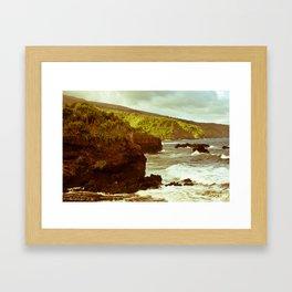 Vintage Maui 5 Framed Art Print