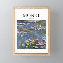 Monet - Water Lilies Framed Mini Art Print