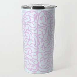 Pastel Brain Travel Mug