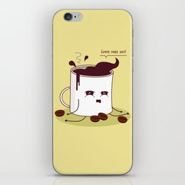 Coffee Mug Addicted To Coffee iPhone Skin