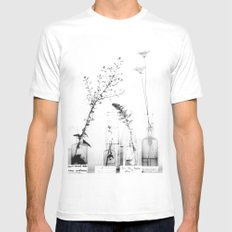 Do You Know Me? MEDIUM White Mens Fitted Tee