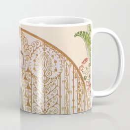 Ornate Art Deco Coffee Mug
