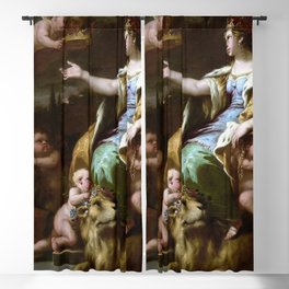 Luca Giordano Allegory of Magnanimity Blackout Curtain