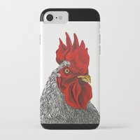 cock iPhone & iPod Cases featuring cock by bmkoc